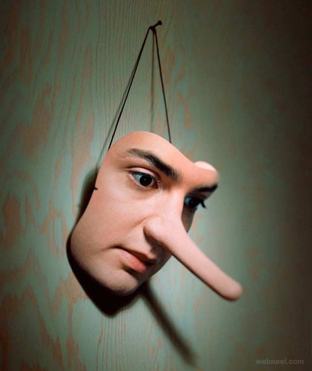 photo manipulation nose