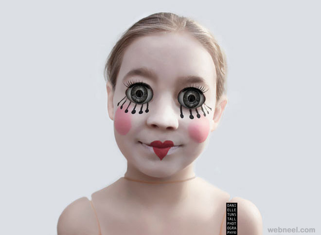 photo manipulation doll