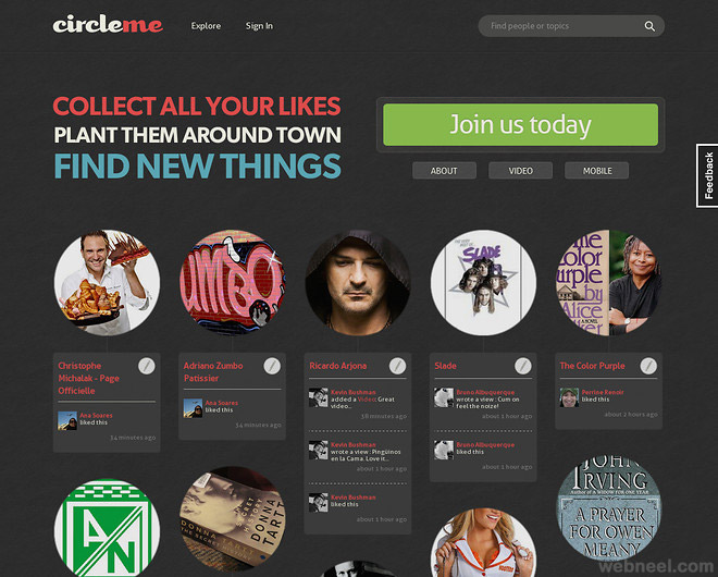 circleme beautiful website