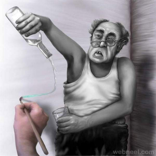 funny drawing