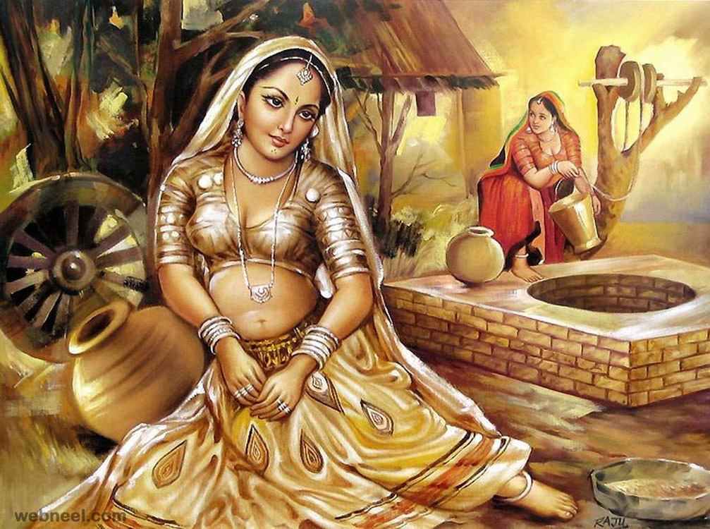 rajasthani indian paintings