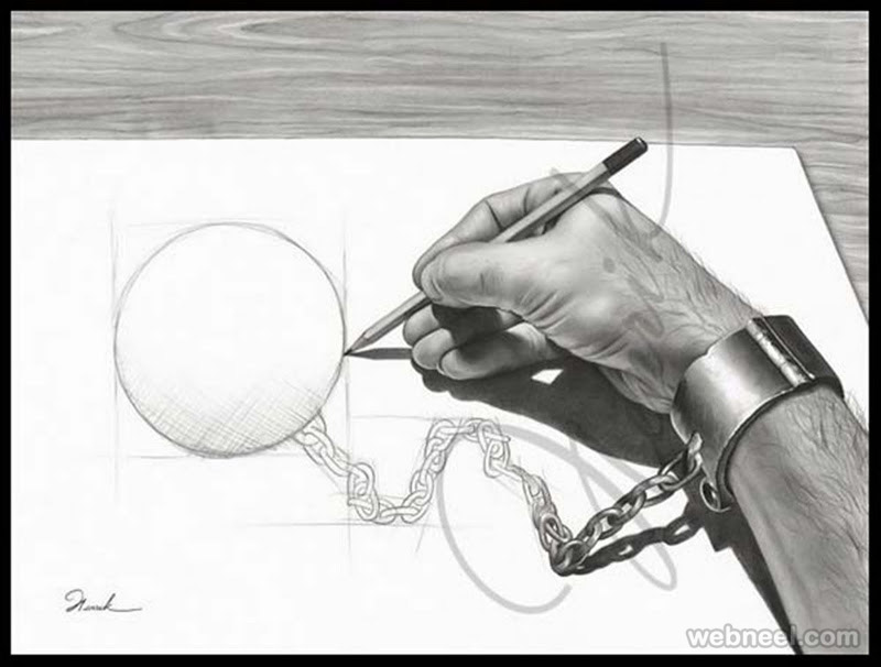 40 Most Funniest Pencil Drawings And Art Works Funny Drawings