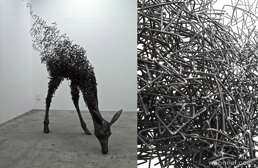 wire sculpture ideas