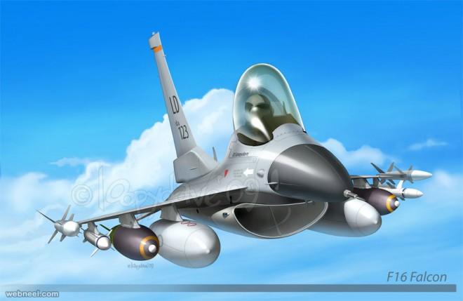 plane digital paintings loopy dave