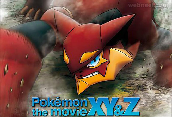 pokemon xyz the movie animation movie 2016