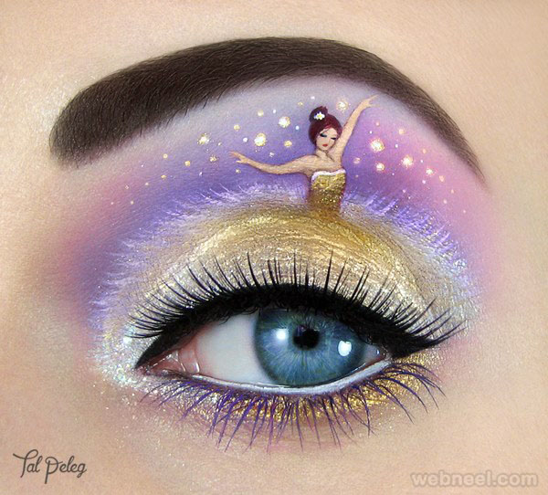 princess eye makeup by tal peleg