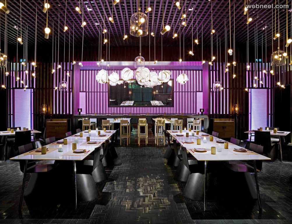 restaurant design almohanadinteriors