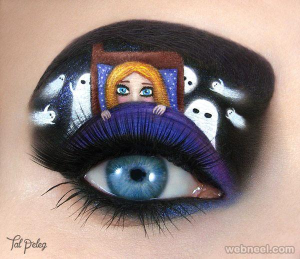 ghosts eye makeup art
