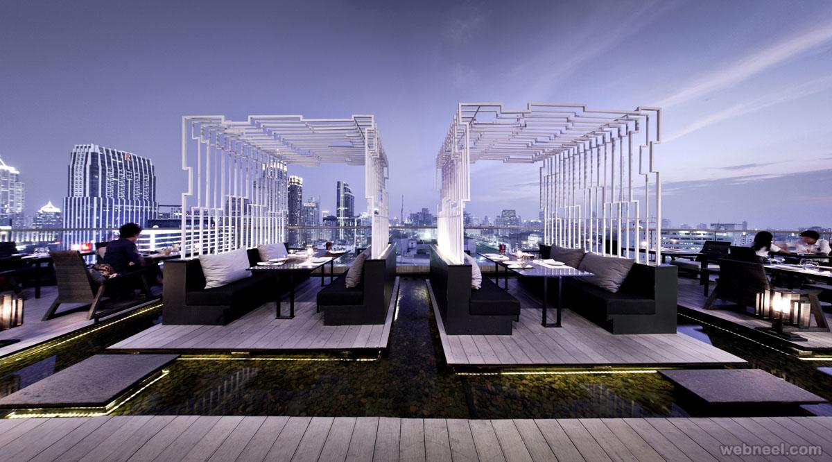 restaurant design zense bangkok