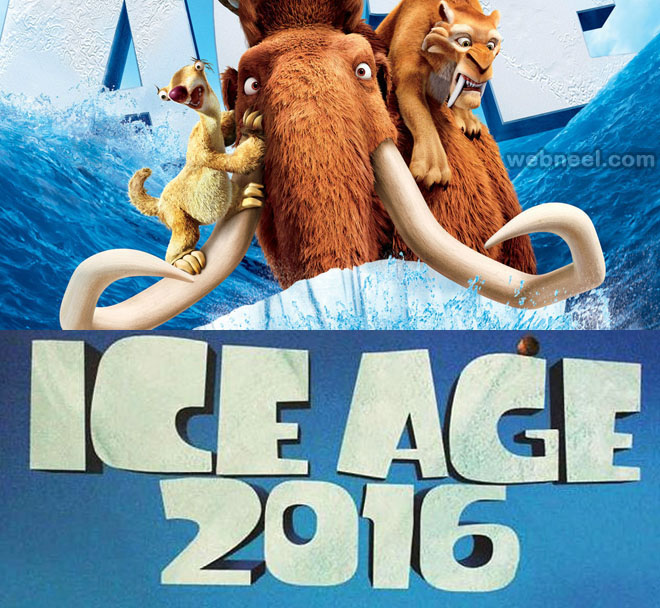 ice age collision course animation movie list 2016