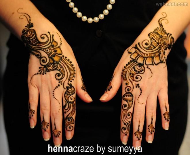 mehndi designs simple sumeyya