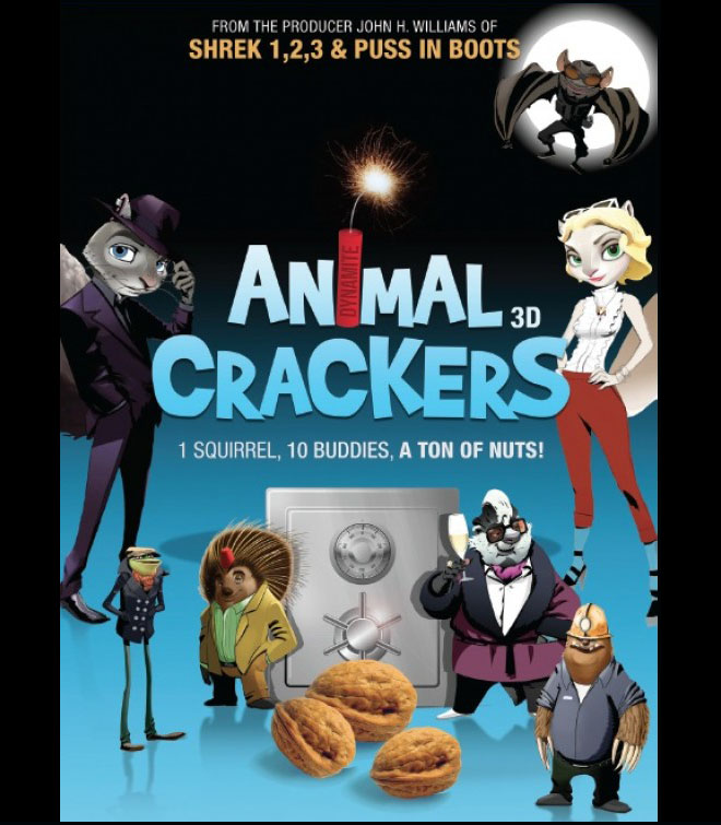 animal crackers animation movie list 2016
