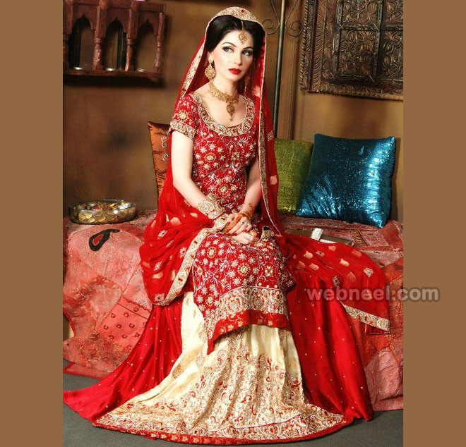 lehenga bridal blouse design