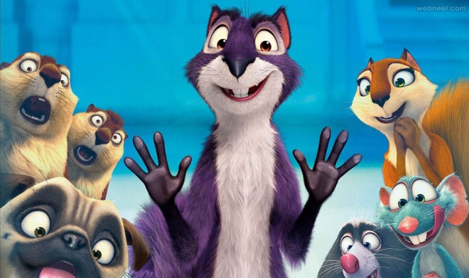 the nut job 2 animation movie list 2016