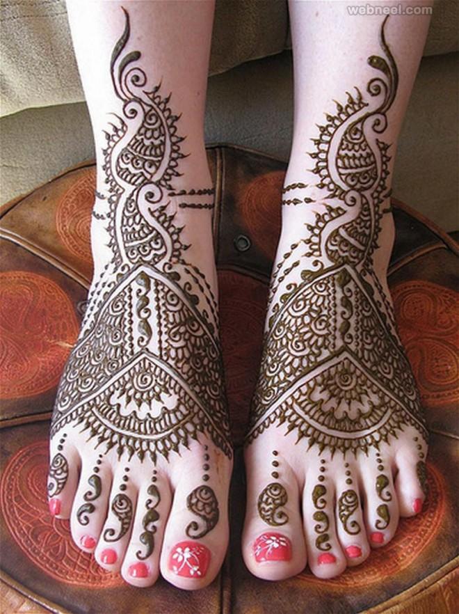 mehndi design bridal