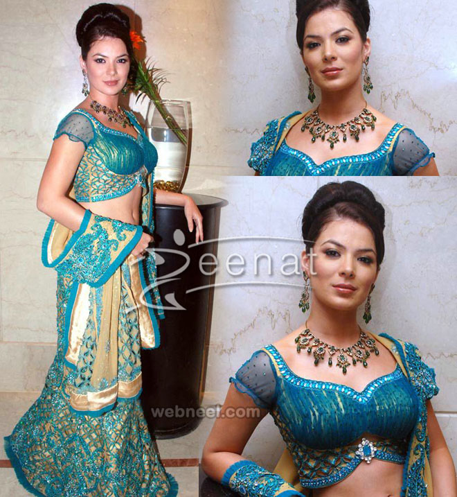 sweetheart neck blouse design by archana