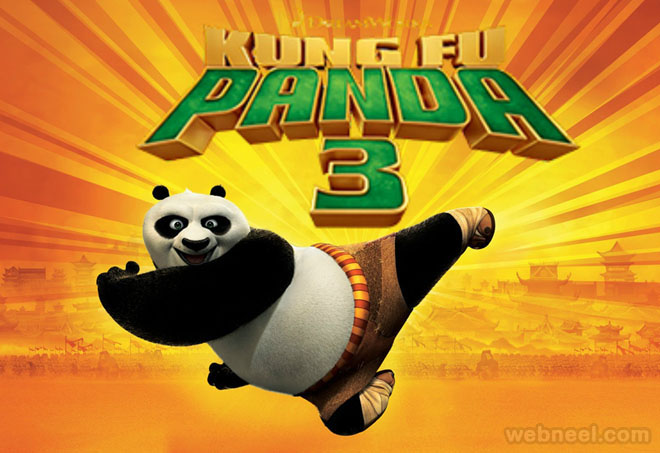 kung fu panda 3 animation movie list 2016