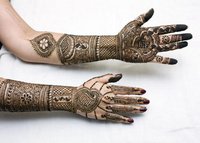 mehndi design brida