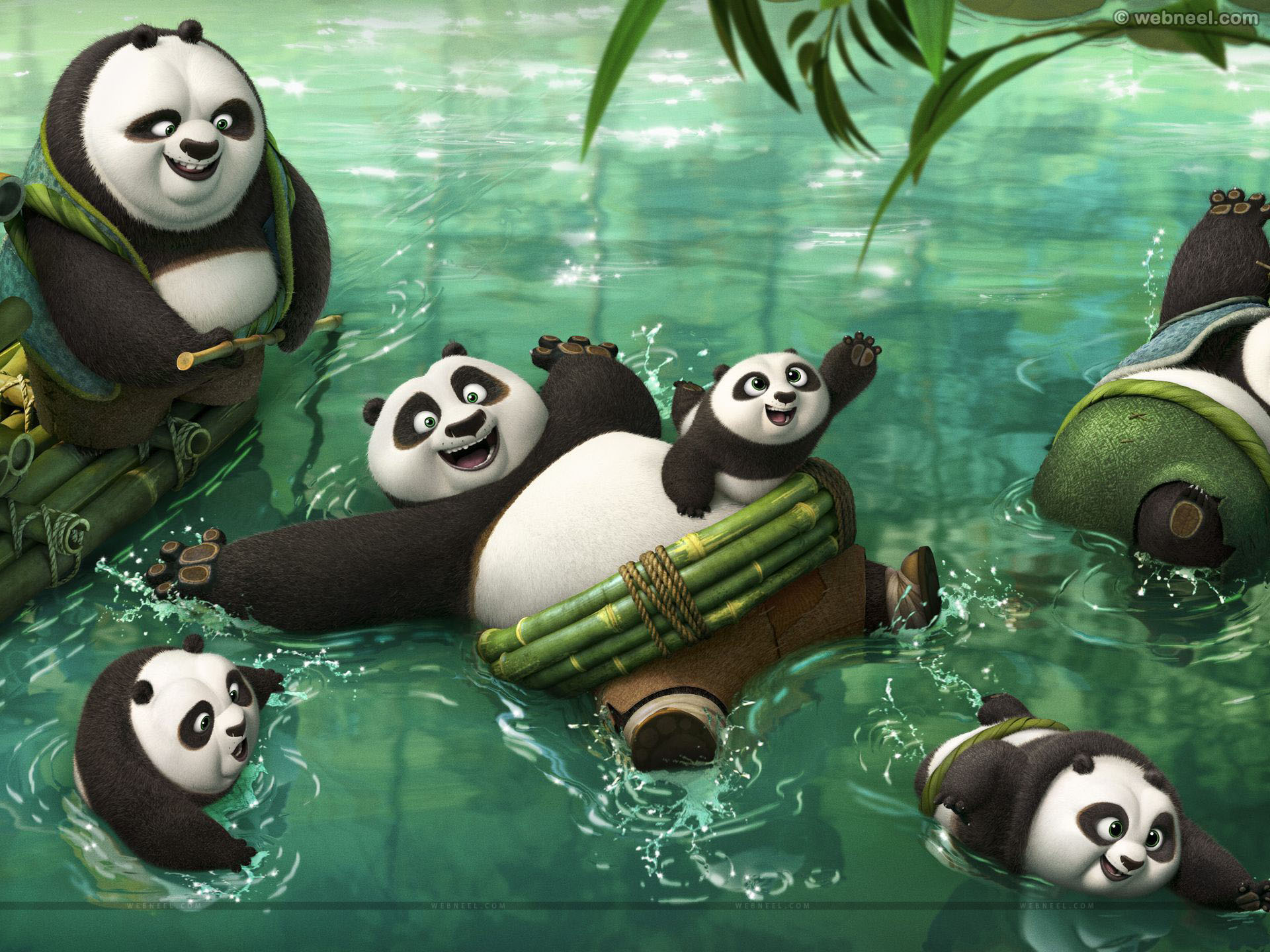 kung fu panda 3 animation movie list 2016 wallpaper
