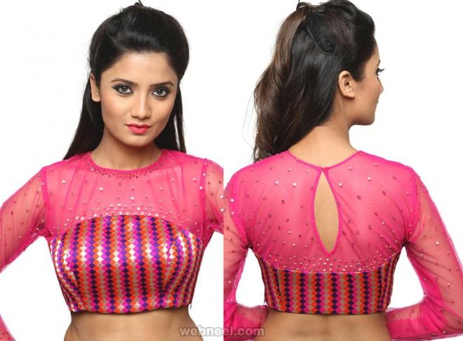 sidezip blouse pattern