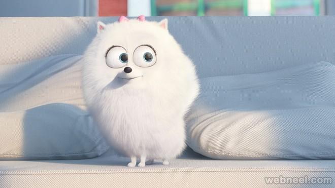 gidget secret life of pets animation movie list 2016