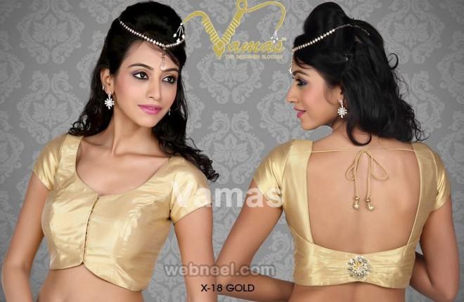 square neck blouse design by vamas