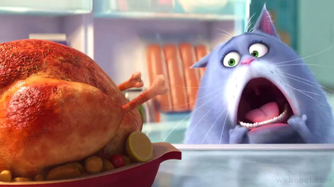 chloe secret life of pets animation movie list 2016