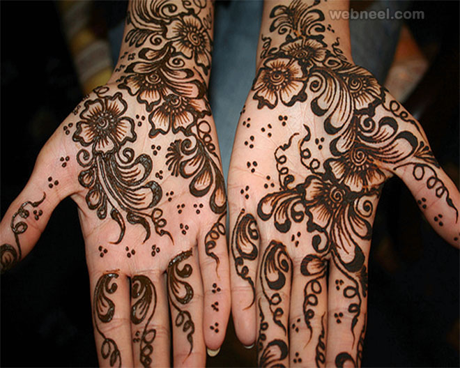 mehndi design cute