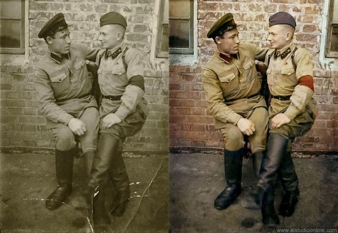 colorize old photos by zavgospb
