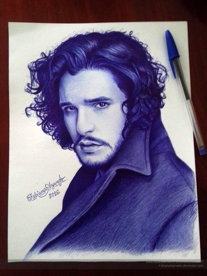pen drawing by fabiana azevedo