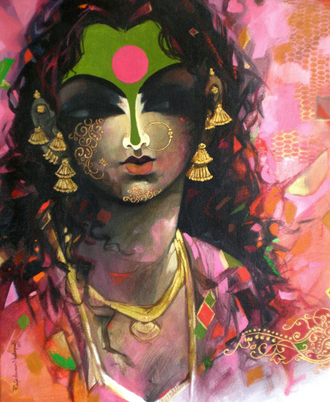 indian paintings by rajeshwar nyalapalli