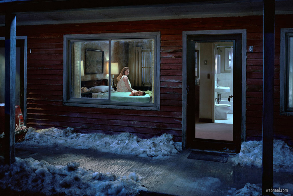 world famous photographs beneath the roses by gregory crewdson