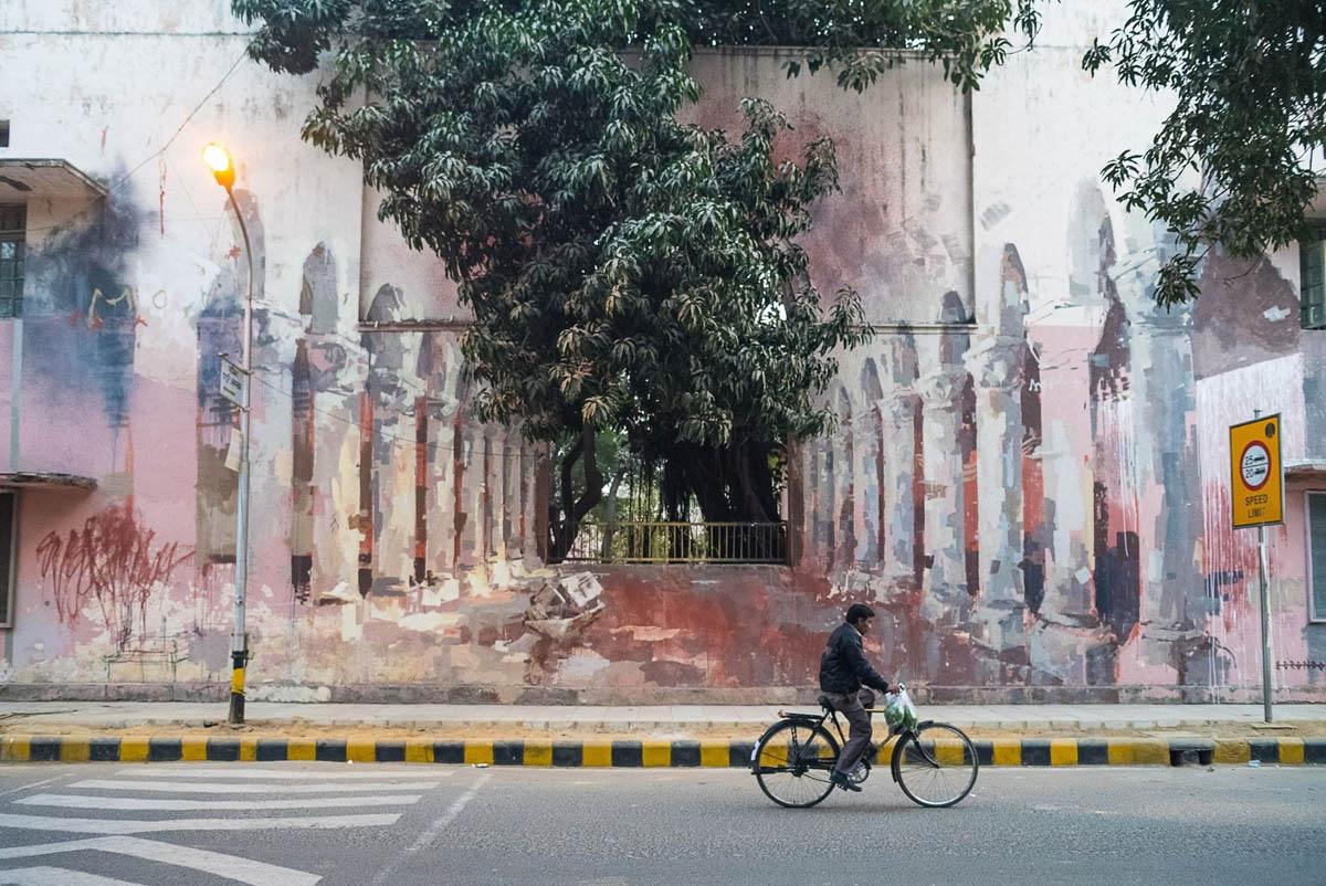 street painting india