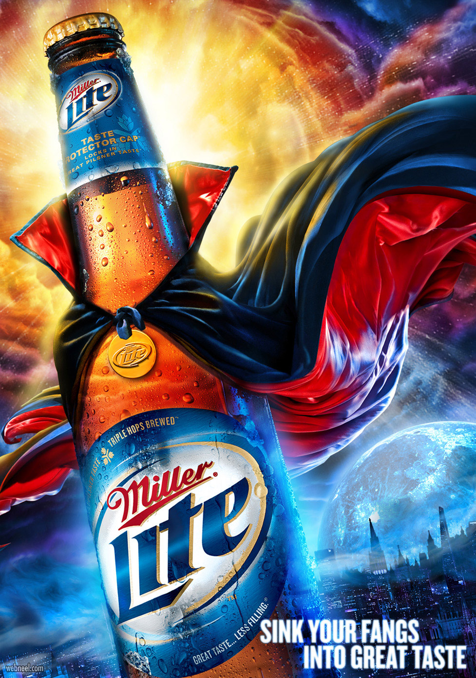 advertising ideas design miller drinks