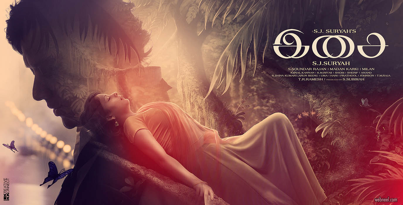 movie poster design tamil isai