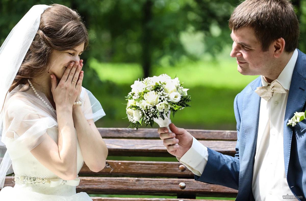 romantic wedding photography idea