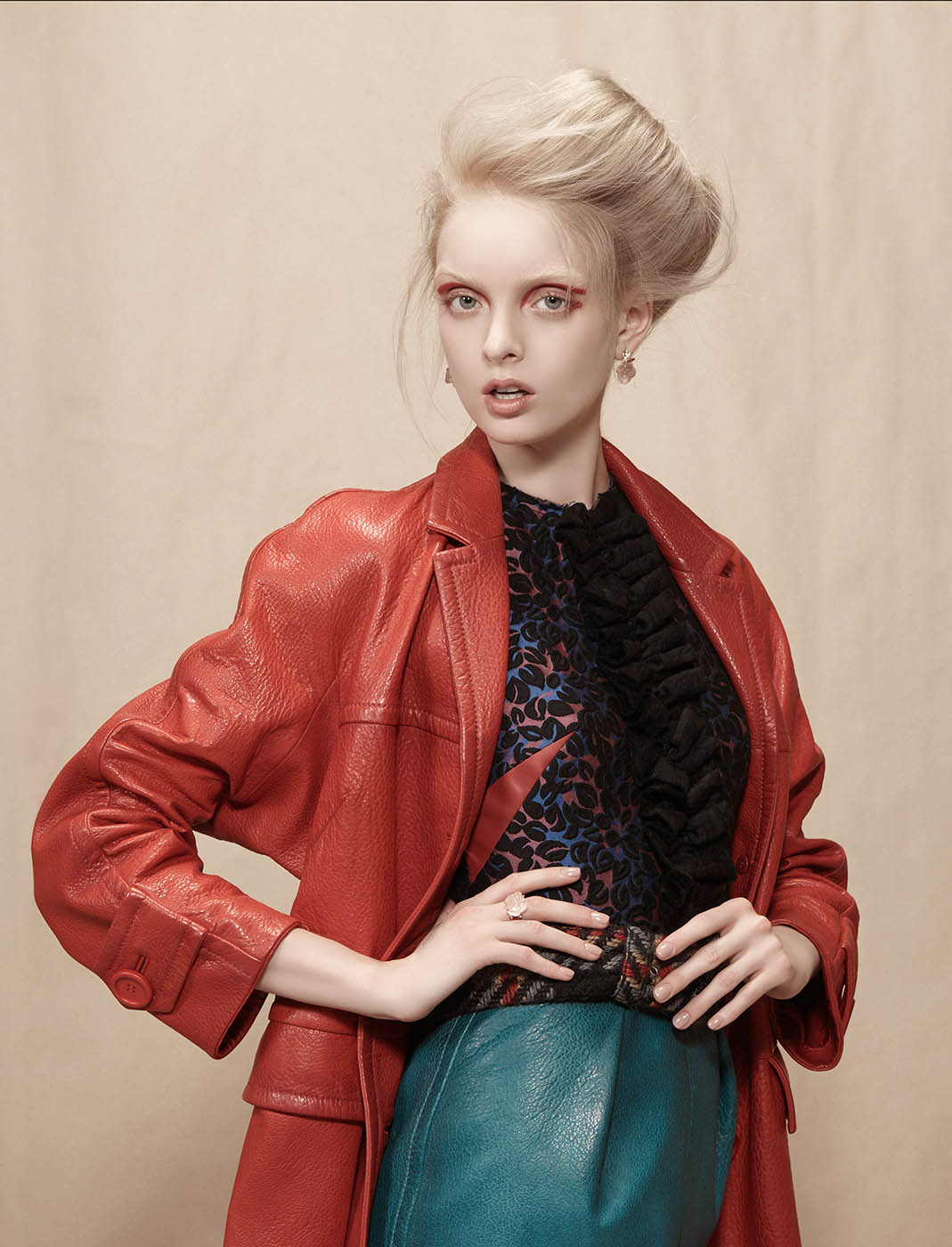 fashion photography jacket by lucia giacani
