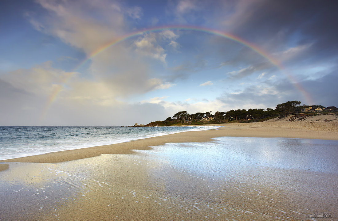 nature photography carmel rainbow california by patrick smith