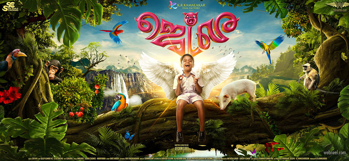 tamil movie poster design india tamil jetle by prathoolnt