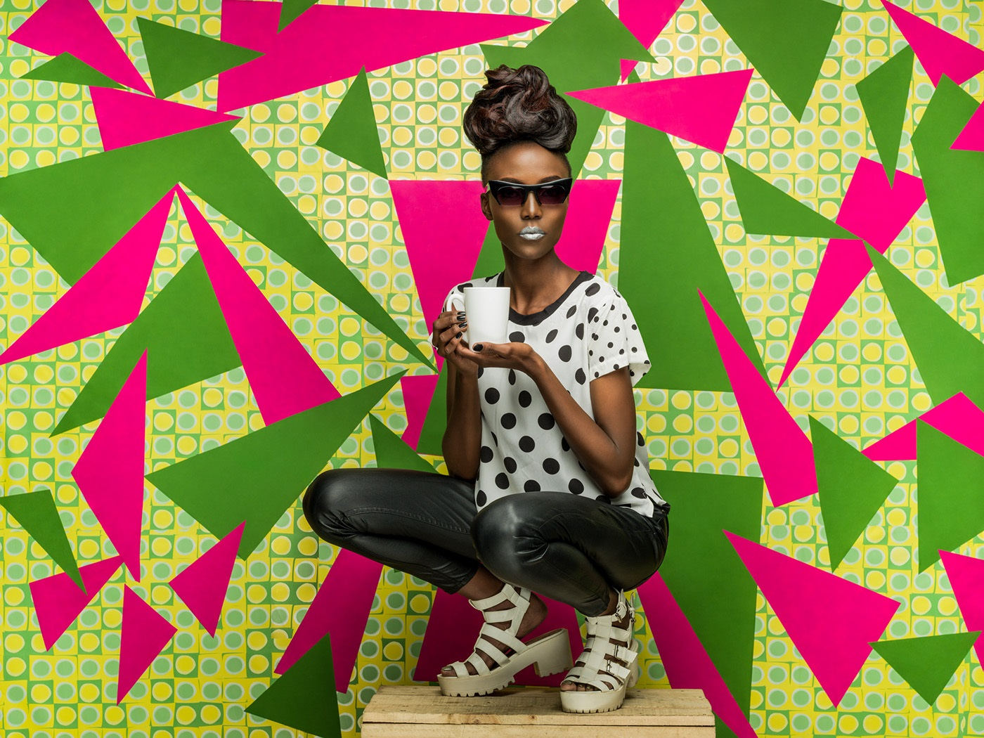 portrait photography triangles by osborne macharia