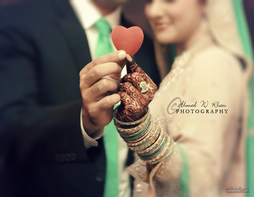 romantic wedding photography by ahmedwkhan