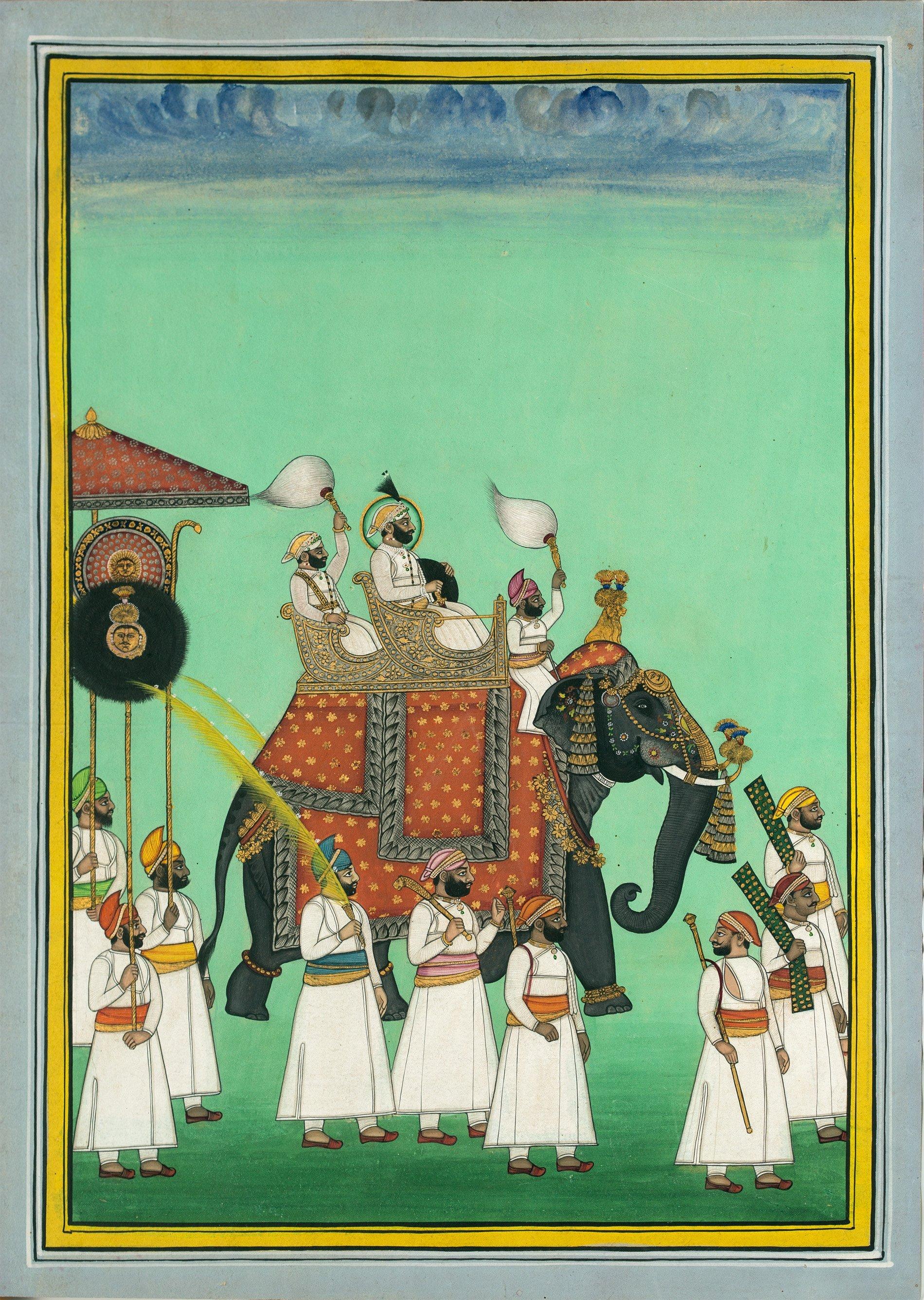 miniature rajasthani painting