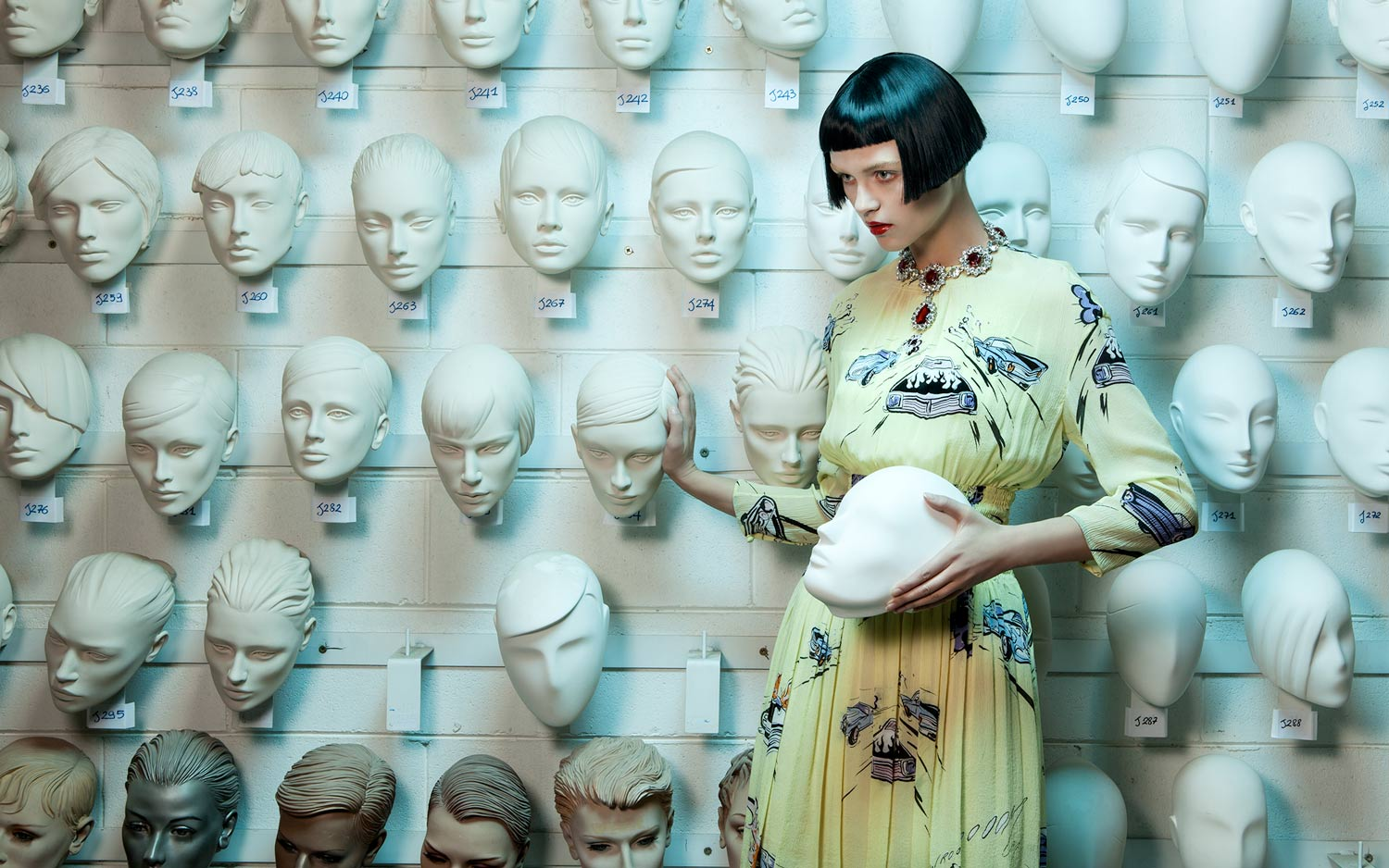 fashion photography prada by lucia giacani