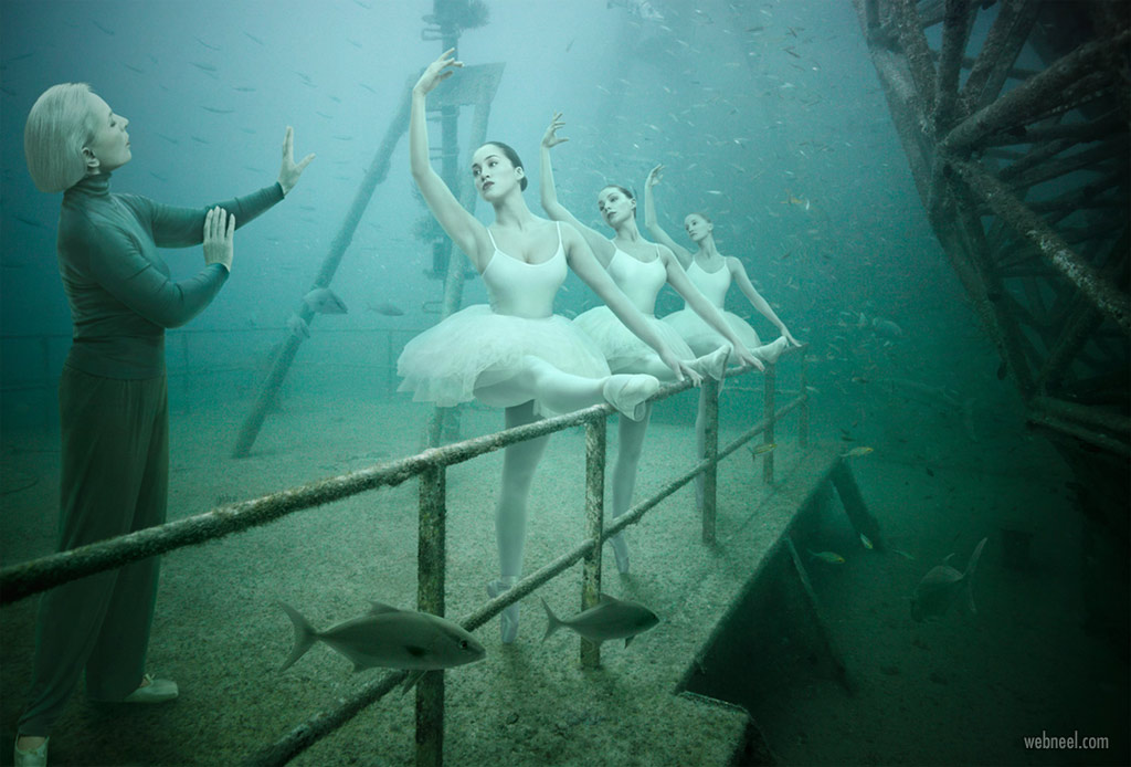 photo manipulation underwater