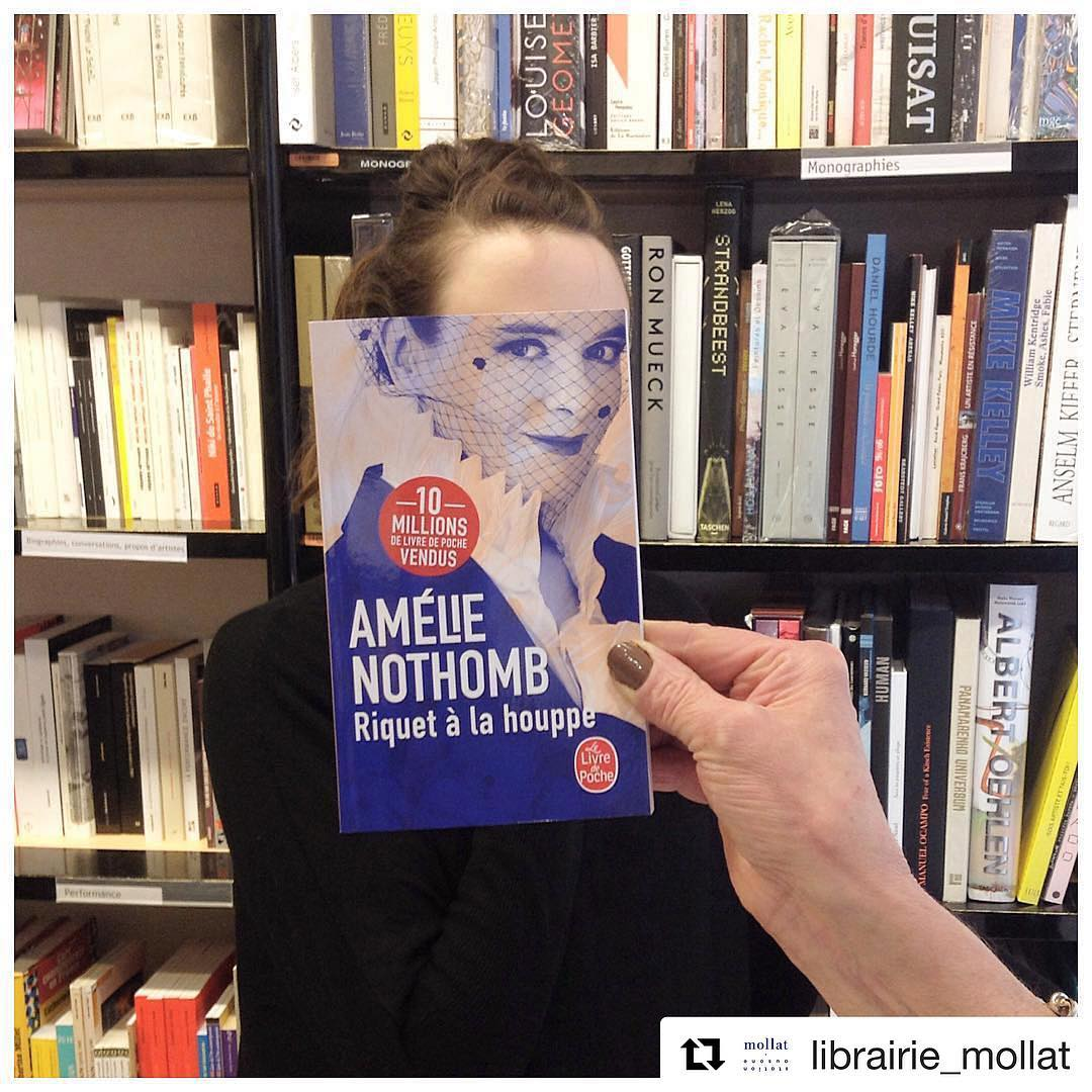 book face combines merge photography idea amelie nothomb by librairie mollat
