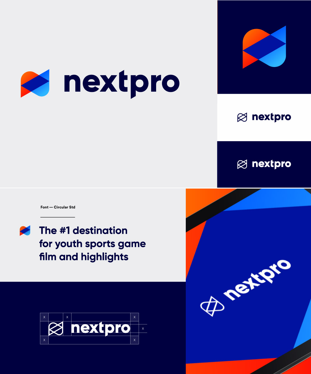 corporate logo design by voronoi