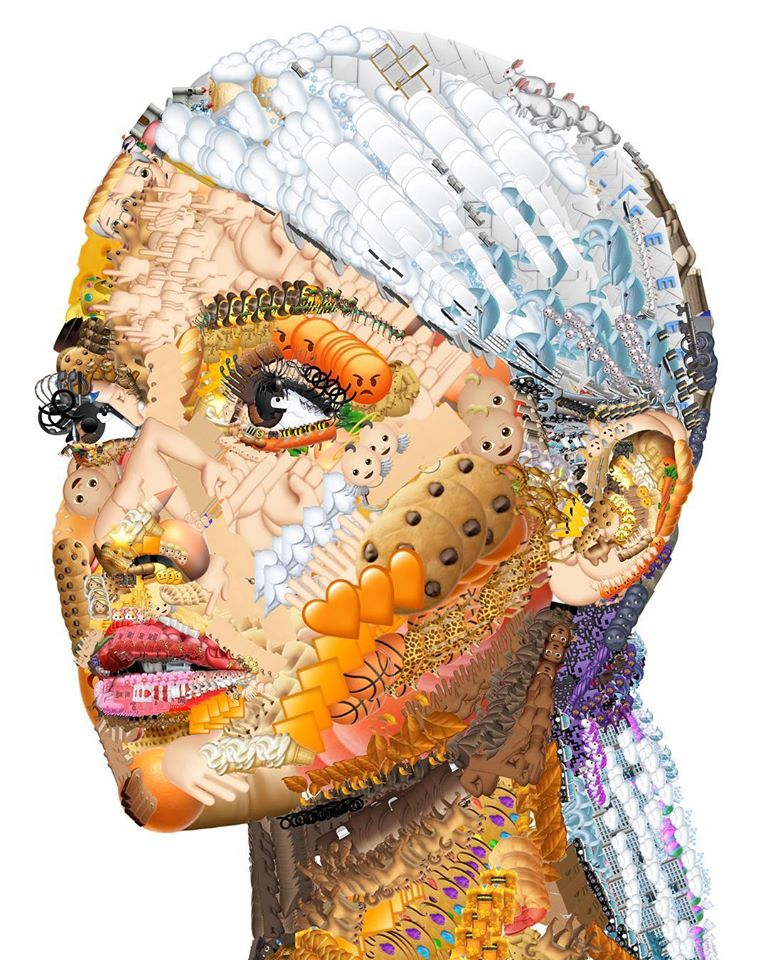 photo manipulation face emoji ariana by yung jake