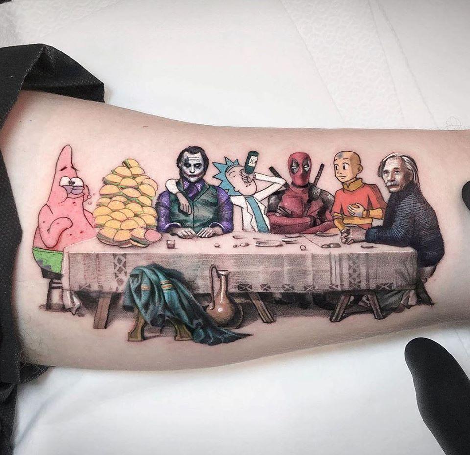 tattoo funny cartoons