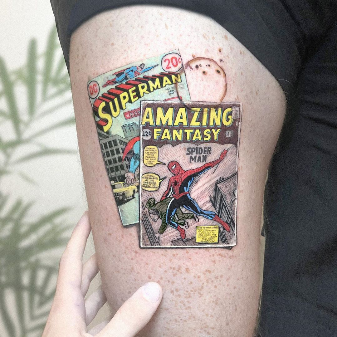 tattoo funny comics by eden kozo