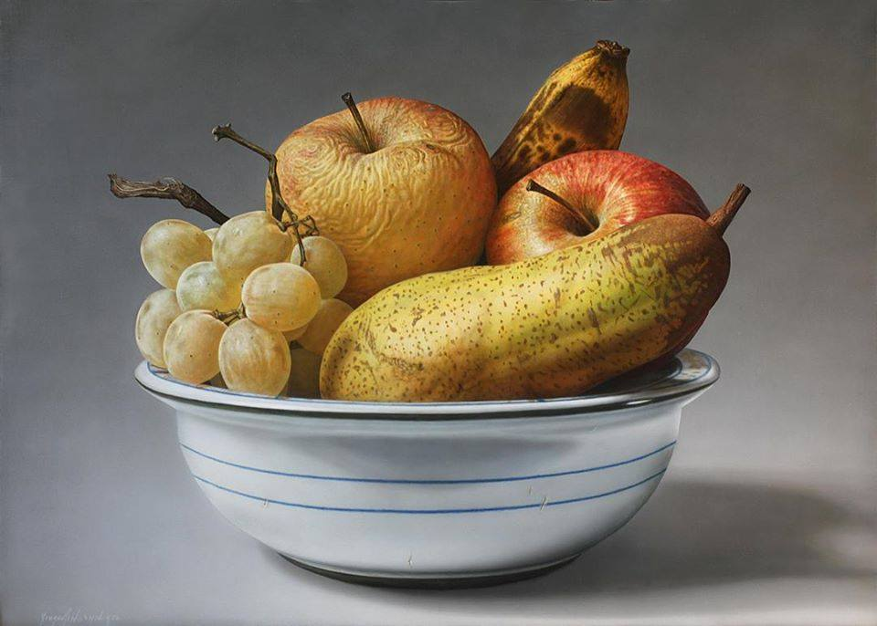 oil painting fruits by gioacchino passini